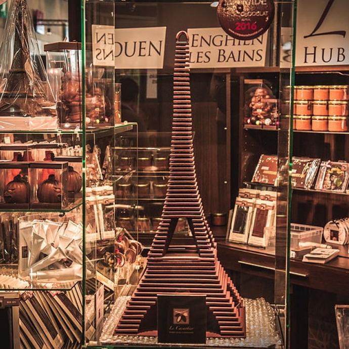 Instant plaisir au Salon du Chocolat