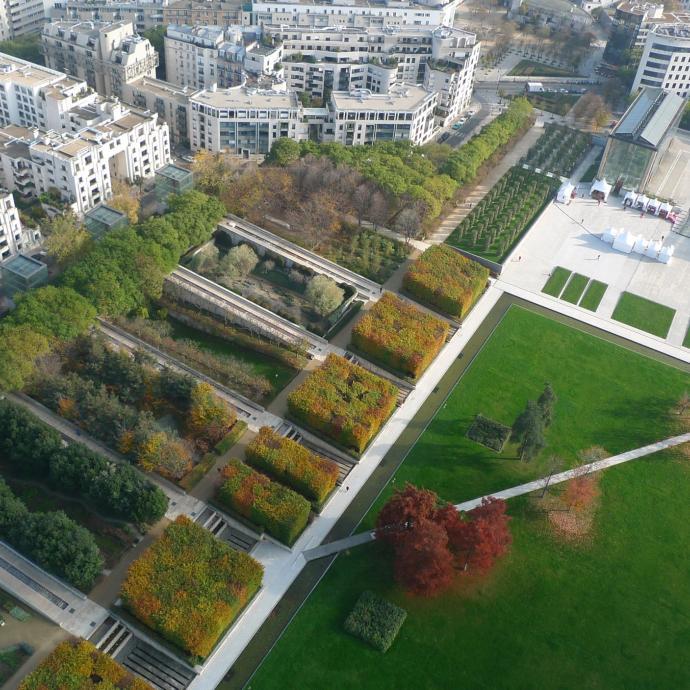 Parc André Citroën, admirez Paris d'en haut