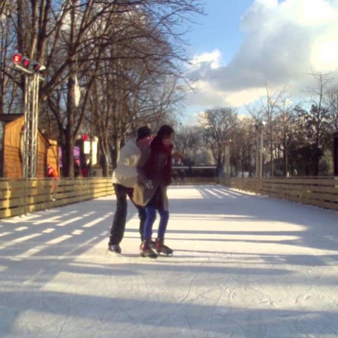 Rendez-vous dans les patinoires parisiennes