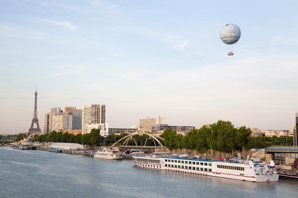 Voir Paris autrement à bord du ballon Generali