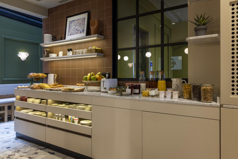 Hôtel de la Paix - Breakfast