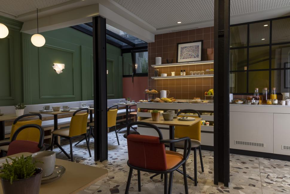 Hôtel de la Paix - Colazione